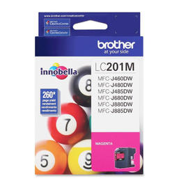LC201MS Brother Original (OEM) Magenta Inkjet Cartridge