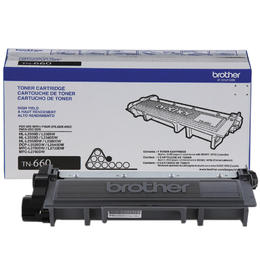 TN660 Brother Original (OEM) Black High Yield Toner Cartridge