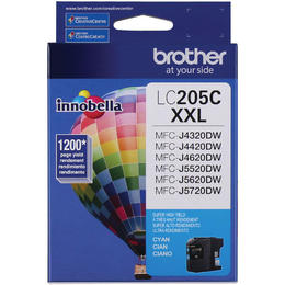 LC205CS Brother Original (OEM) Cyan Super High Yield (XXL) inkjet cartridge