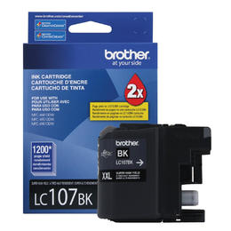 LC107BKS Brother Original (OEM) Black Super High Yield (XXL) inkjet cartridge