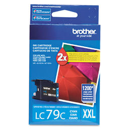 LC79C Brother Original (OEM) Cyan Super High Yield (XXL) inkjet cartridge