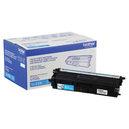 TN439C Brother Original (OEM) Cyan Ultra High Yield Toner Cartridge