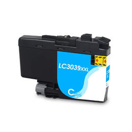 LC3039C XXL Compatible Super High Yield Cyan inkjet cartridge for Brother