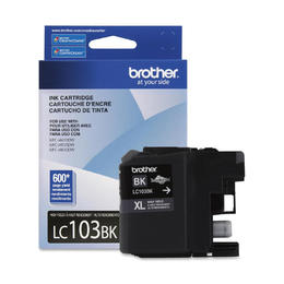 LC103BKS Brother Original (OEM) Black High Yield (XL) Inkjet Cartridge