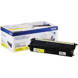 TN431Y Brother Original (OEM) Yellow Toner Cartridge