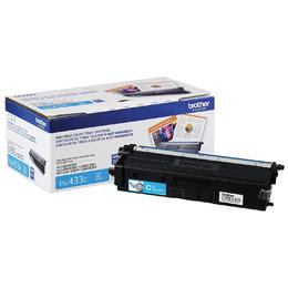 TN433C Brother Original (OEM) Cyan High Yield Toner Cartridge