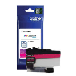 LC3033MS Brother Original (OEM) Magenta Super High Yield (XXL) Inkjet Cartridge
