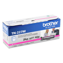 TN227M Brother Original (OEM) Magenta High Yield Toner Cartridge