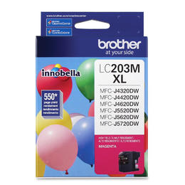 LC203MS Brother Original (OEM) Magenta High Yield (XL) inkjet cartridge