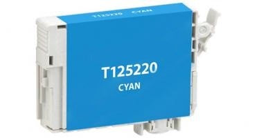 T125200 Remanufactured/Compatible high yield cyan inkjet cartridge for Epson Work Force