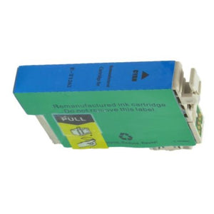 T126200 Remanufactured/Compatible high yield cyan inkjet cartridge for Epson Work Force