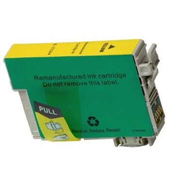 T126420 Remanufactured/Compatible high yield yellow inkjet cartridge for Epson Work Force