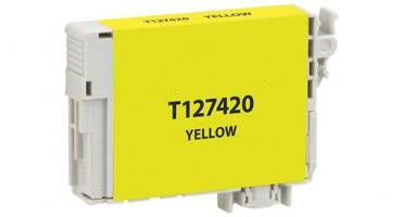 T127420 Remanufactured/Compatible extra high yield yellow inkjet cartridge for Epson Work Force