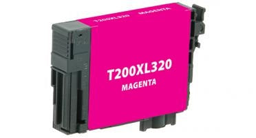 T200XL320 Remanufactured/Compatible high yield magenta inkjet cartridge for Epson Work Force
