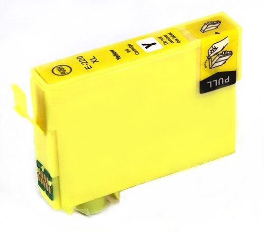 T220XL420 Remanufactured/Compatible high yield yellow inkjet cartridge for Epson Work Force
