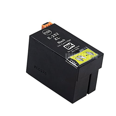 T252XL120 Remanufactured/Compatible high yield black inkjet cartridge for Epson Work Force