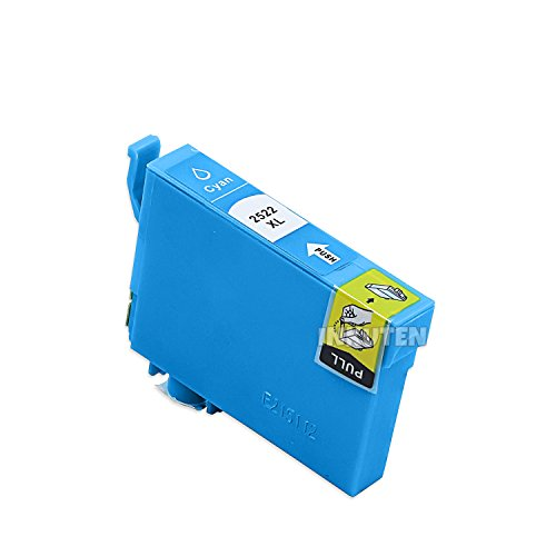 T252XL220 Remanufactured/Compatible high yield cyan inkjet cartridge for Epson Work Force