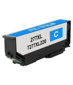 T277XL220 Remanufactured/Compatible high yield cyan inkjet cartridge for Epson Expression