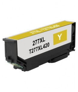 T277XL420 Remanufactured/Compatible high yield yellow inkjet cartridge for Epson Expression