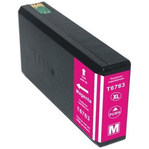 T676XL320 Remanufactured/Compatible high yield magenta inkjet cartridge for Epson Work Force