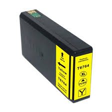 T676XL420 Remanufactured/Compatible high yield yellow inkjet cartridge for Epson Work Force