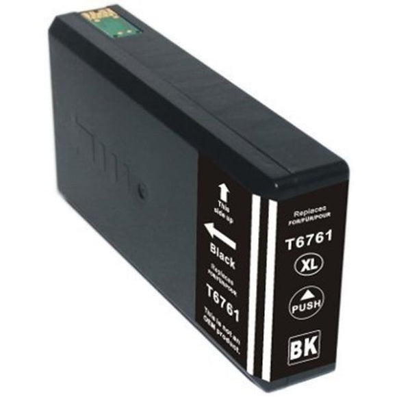 T676XL120 Remanufactured/Compatible high yield black inkjet cartridge for Epson Work Force