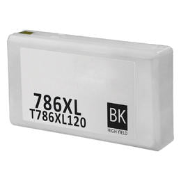 T786XL120 Remanufactured/Compatible high yield black inkjet cartridge for Epson Work Force