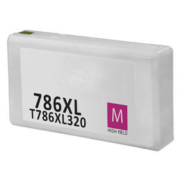 T786XL320 Remanufactured/Compatible high yield magenta inkjet cartridge for Epson Work Force