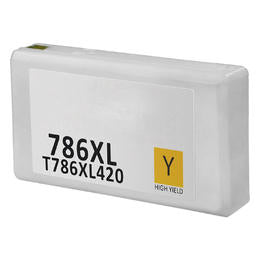 T786XL420 Remanufactured/Compatible high yield yellow inkjet cartridge for Epson Work Force