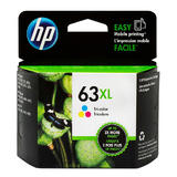 HP 63XL F6U63A Original High Yield Tri-color Ink Cartridge
