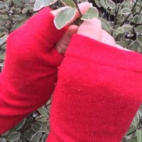 Why we love Recycled Cashmere Fingerless Gloves
