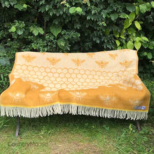 Load image into Gallery viewer, J.J. Textiles Bee Throw Open