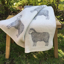 Load image into Gallery viewer, J.J. Textiles Dot Sheep Blanket
