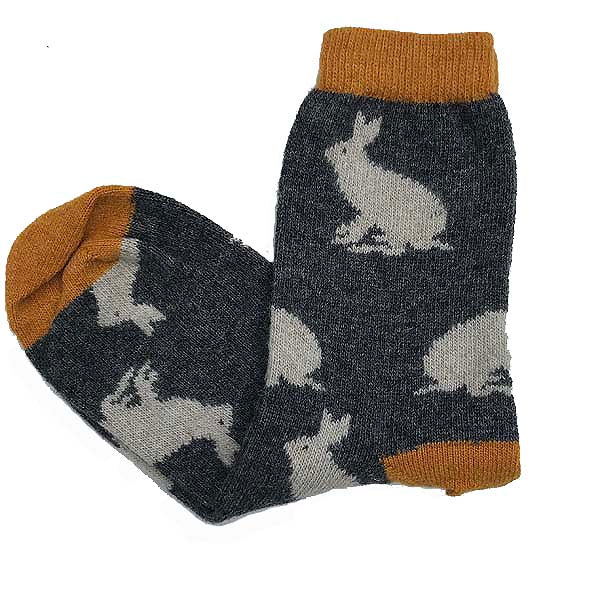 Wool Rabbit Socks