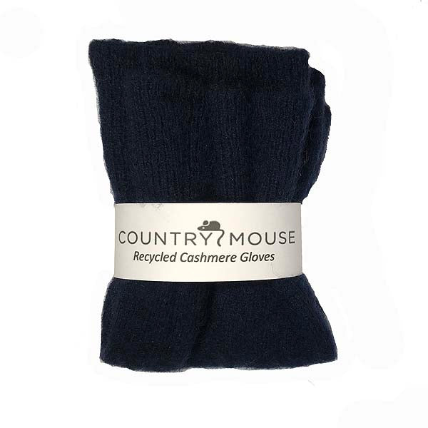 Ink cashmere gloves