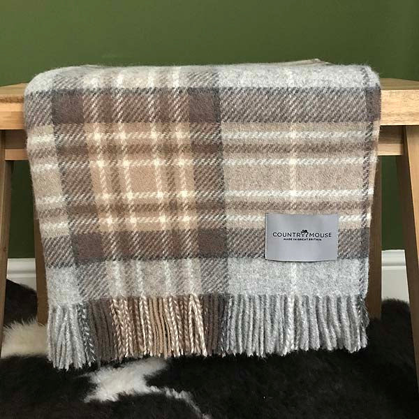McKellar Tartan Wool Throw
