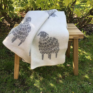JJ Textiles Mima Sheep Wool Blanket