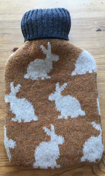 Mini Hare Hot Water Bottle