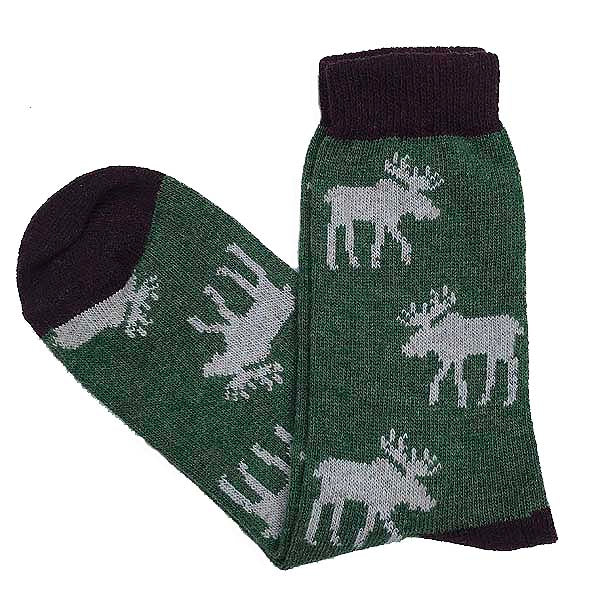 Wool moose socks