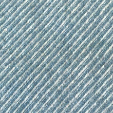 Load image into Gallery viewer, Petrol Stripe Wool Throw detail