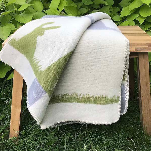 J.J. Textiles Rabbit Blanket