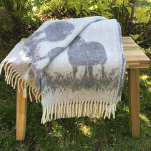 Load image into Gallery viewer, JJ Textiles Sheepy Wool Throw