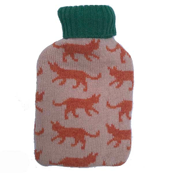 Mini Cat Hot Water Bottle
