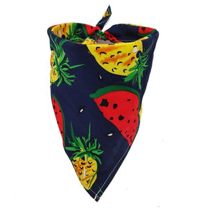 Fruit Print dog bandana