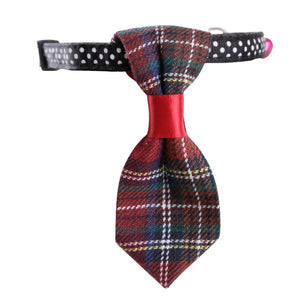 Adjustable Cat Collars With Tie and Bell