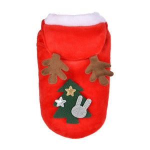 2018 Christmas Dog Clothes