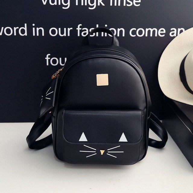 Cat Printing Backpack