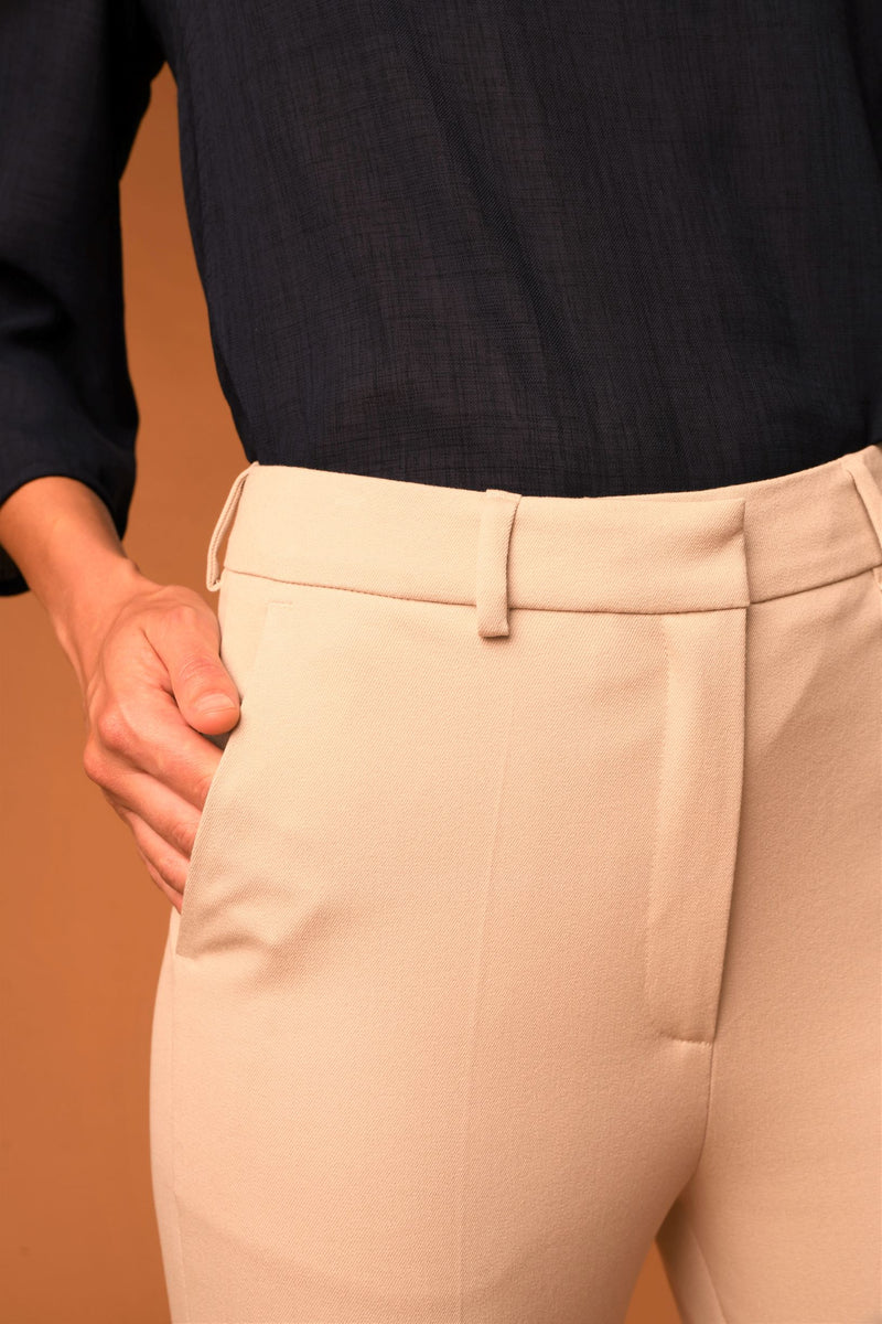 The Simone Pants - BEIGE LIMITED