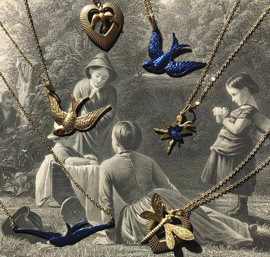 Latest Collection of Vintage Charm Necklaces coming soon!!