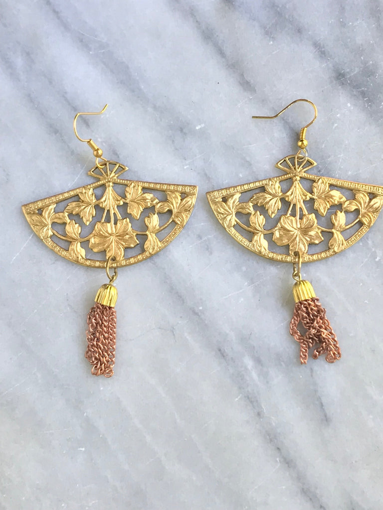 The Secret Language of the Fan and other interesting Earrings
